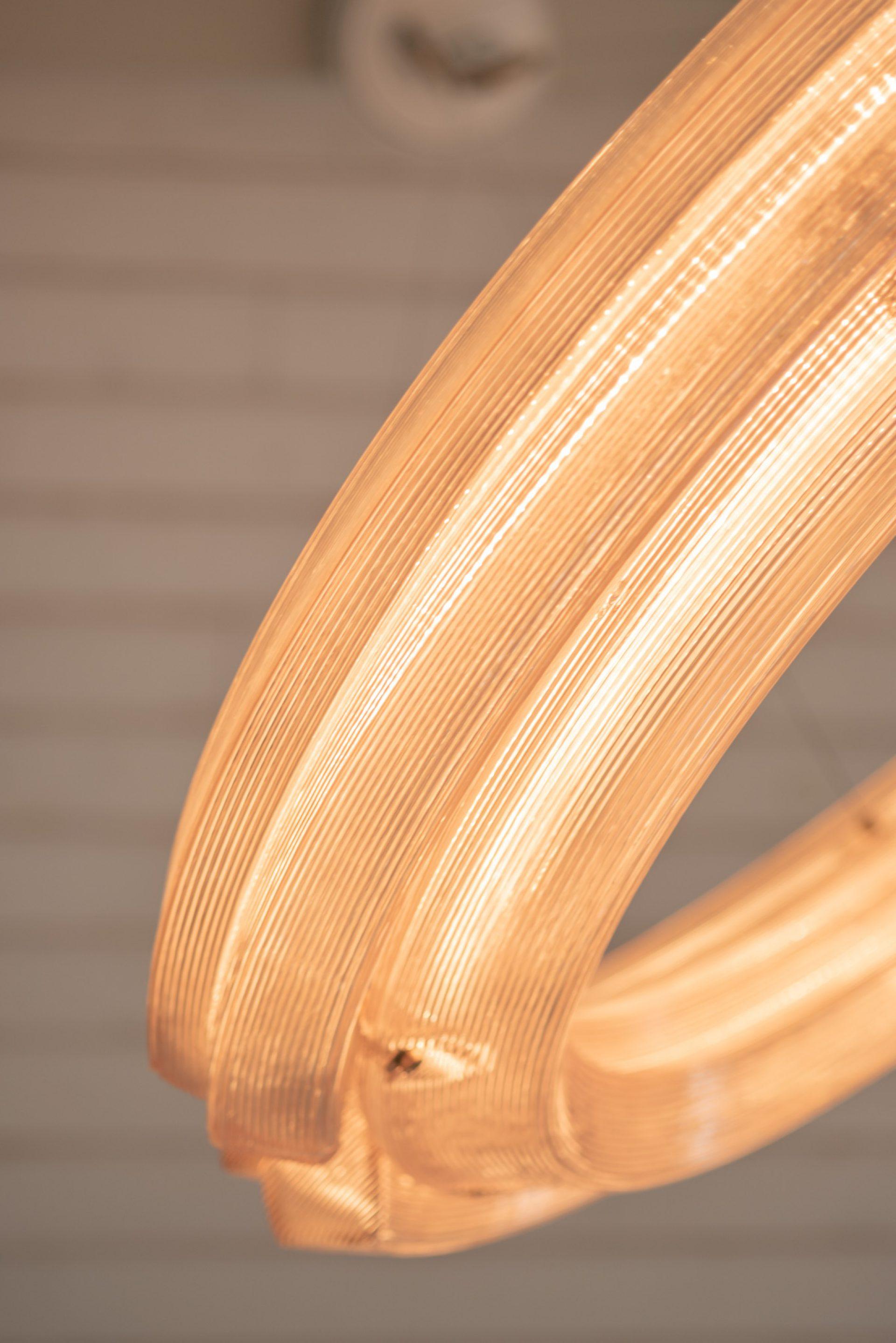 Kooij Buitenhuis Chandelier Light 120 cm detail
