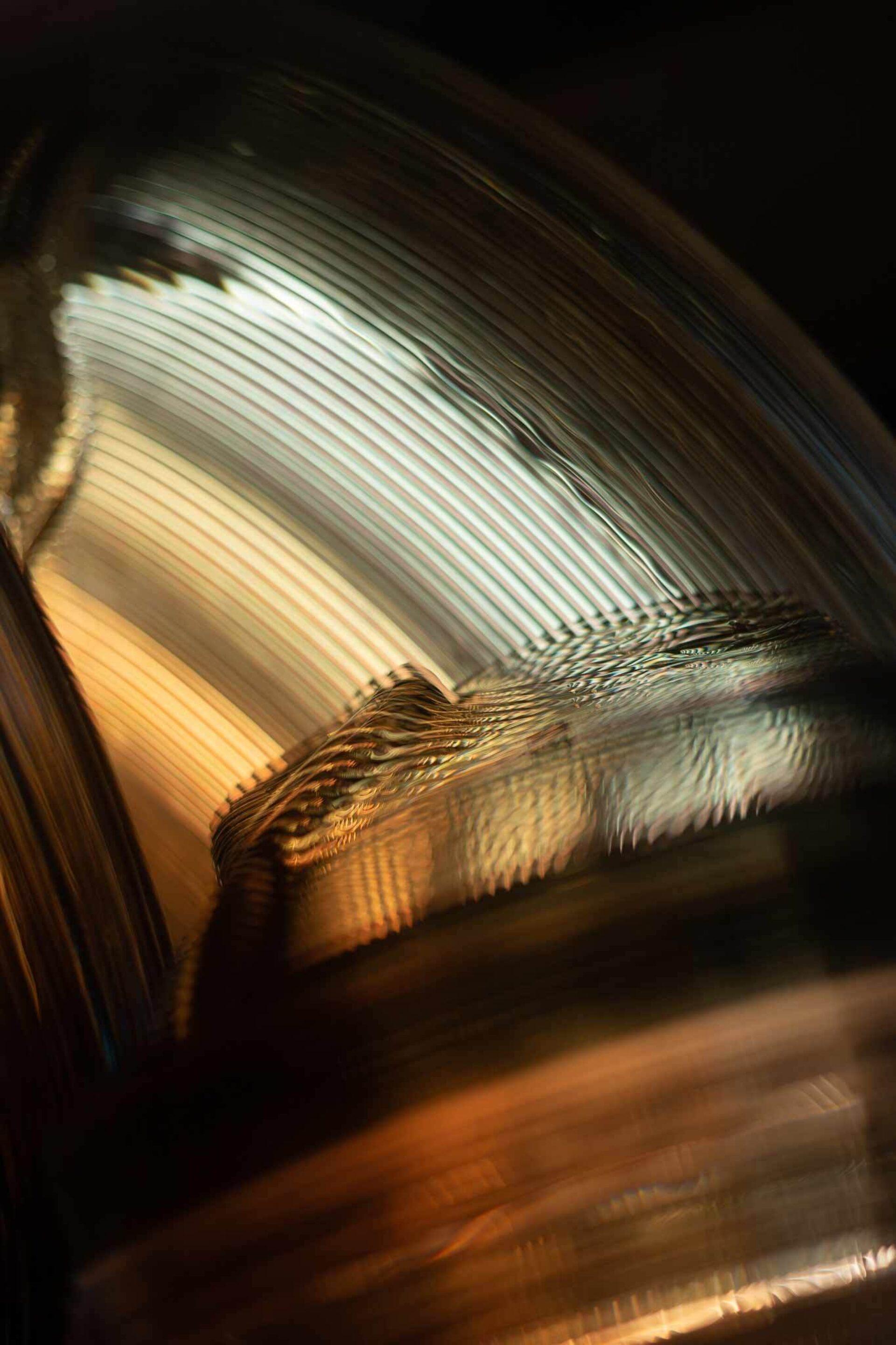Kooij satellite lamp detail atmosphere recycled plastic lighting