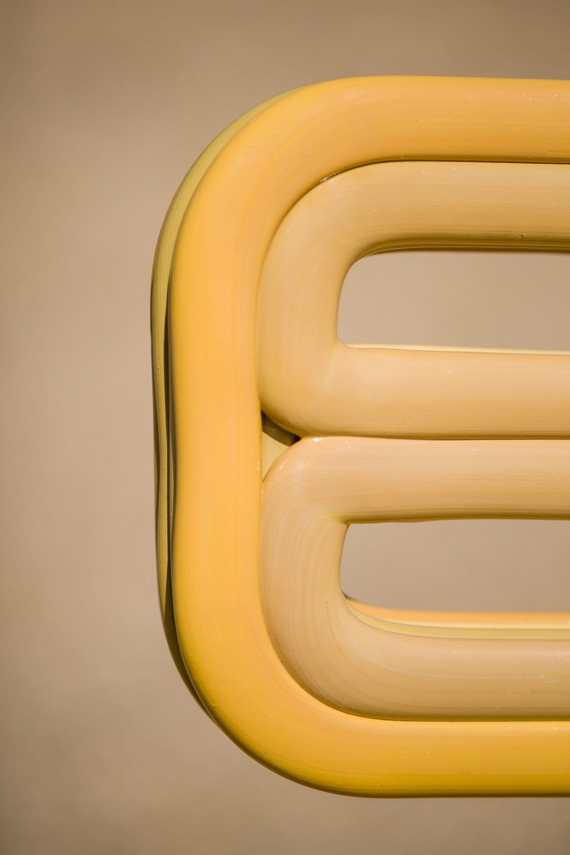 Kooij Chubby Chair Citrine designed by Dirk van der Kooij