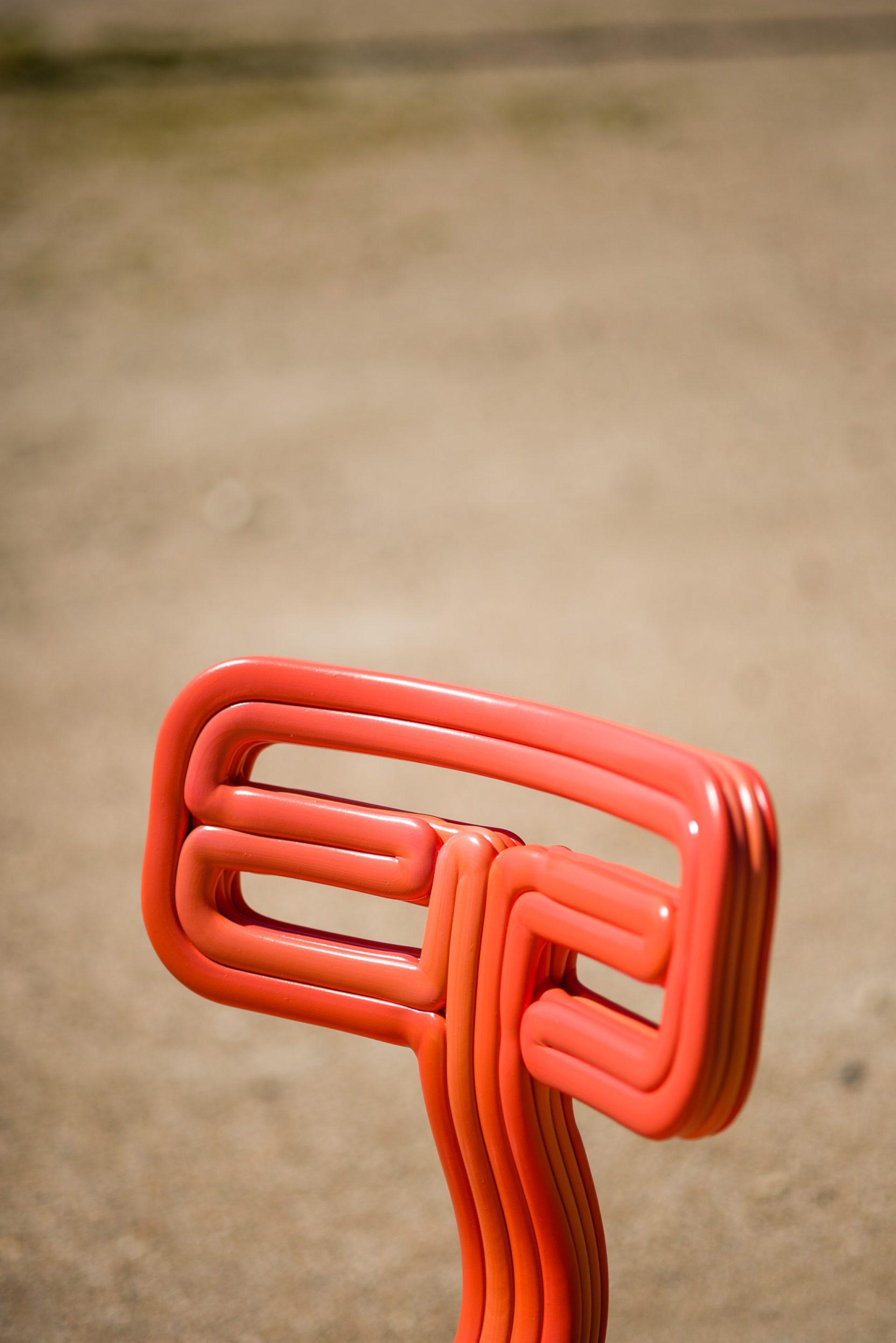 Kooij Chubby Chair Ember designed by Dirk van der Kooij