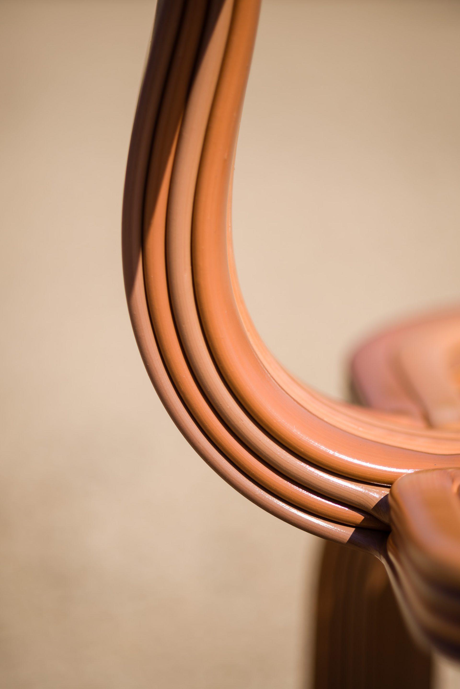 Kooij Chubby Chair Toffee designed by Dirk van der Kooij