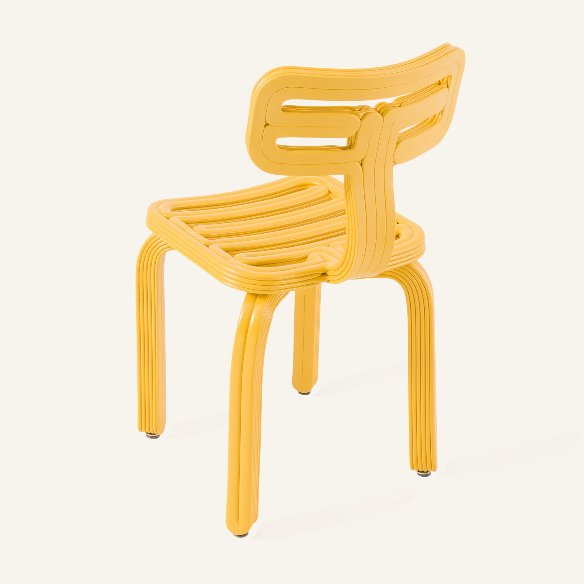 Kooij Chubby Chair Yellow designed by Dirk van der Kooij