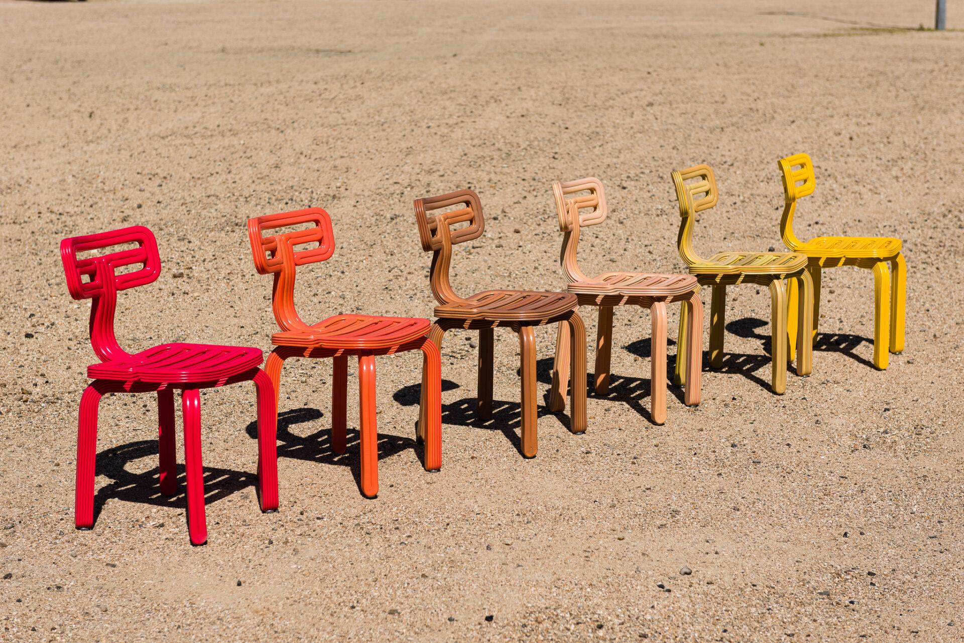 Kooij Chubby Chairs designed by Dirk van der Kooij