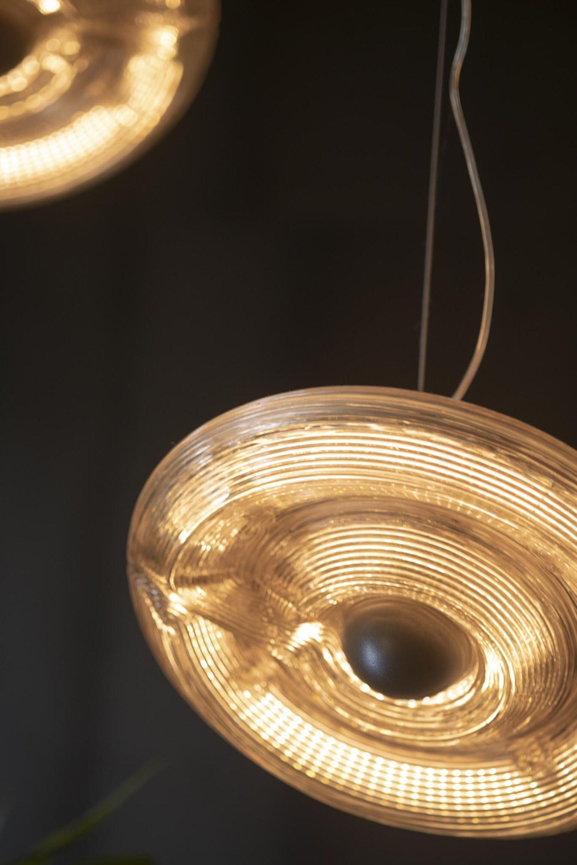 Kooij fresnel pendent light recycled plastic