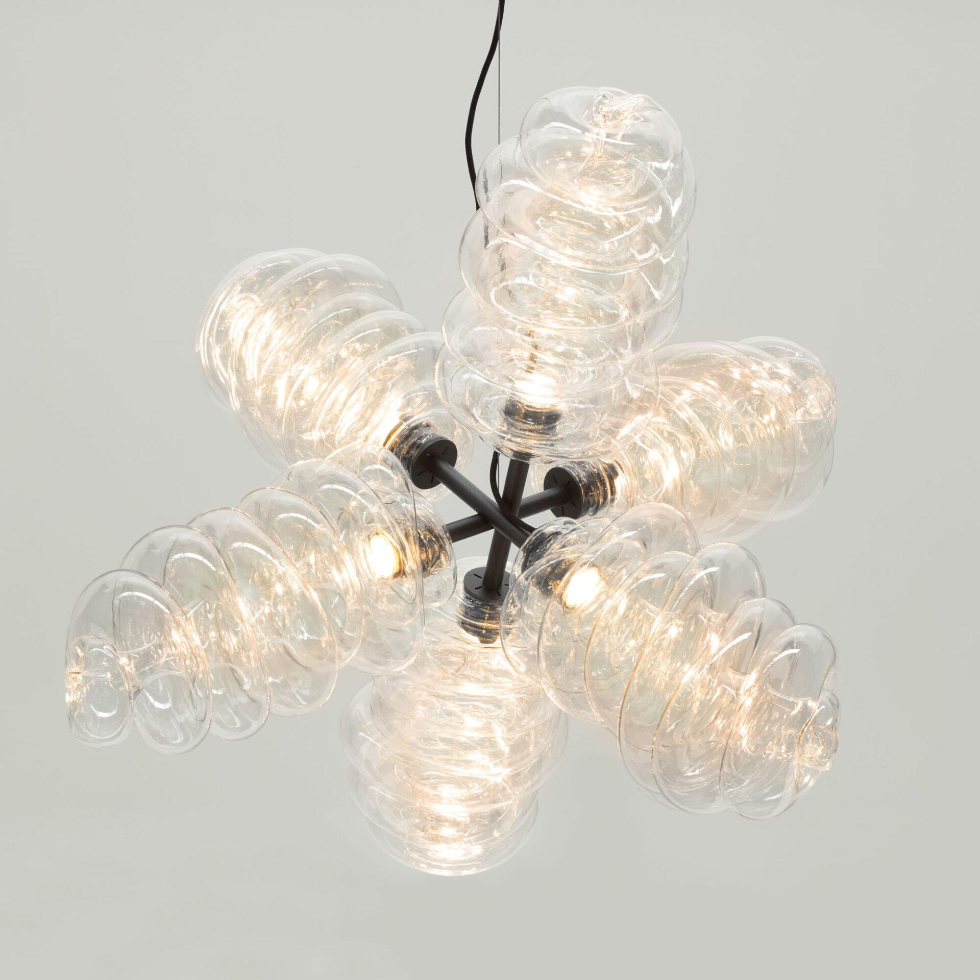 Bloown chandelier big web