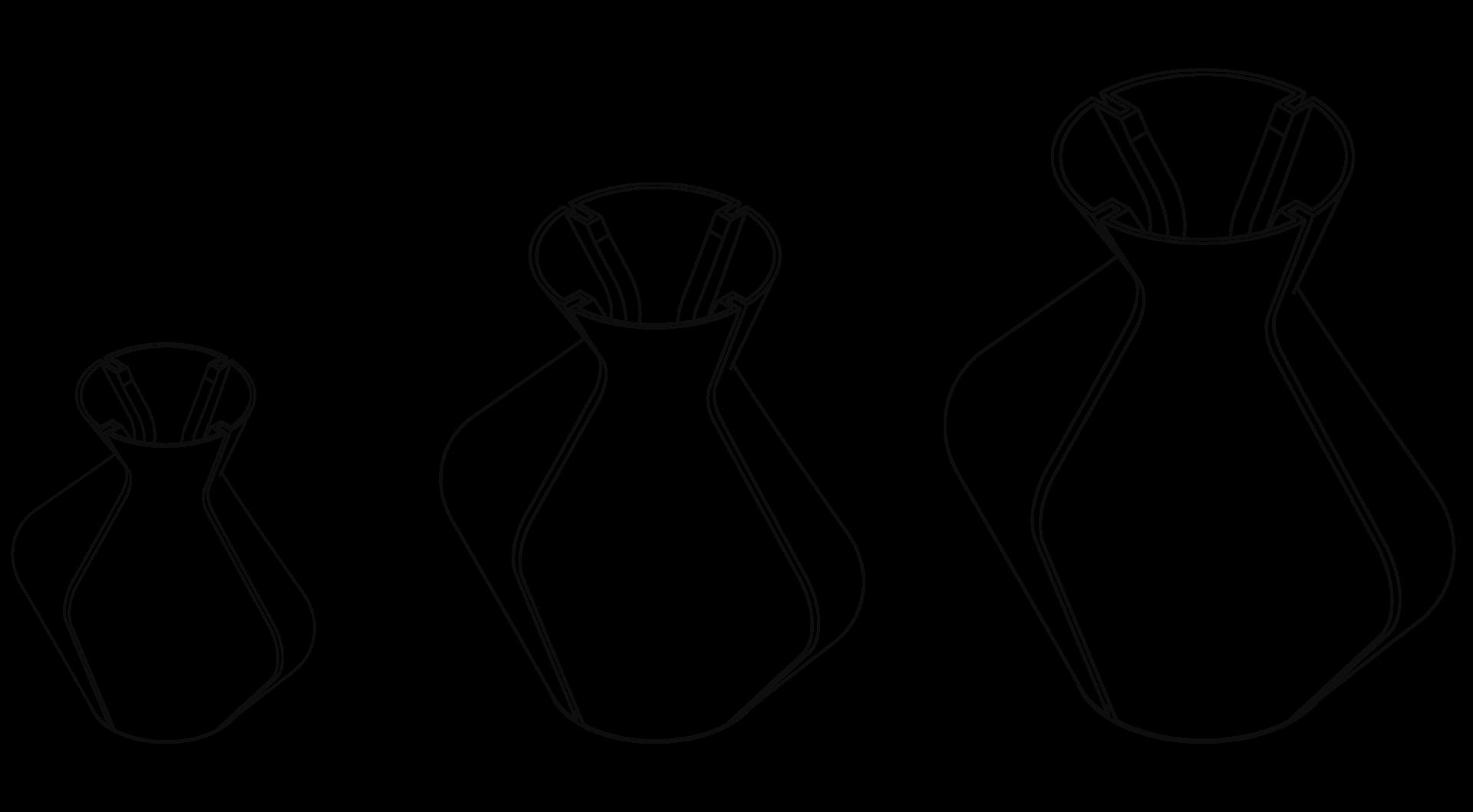 Changing vases line